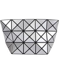 Bao Bao Issey Miyake Panelled Pouch - Metallic