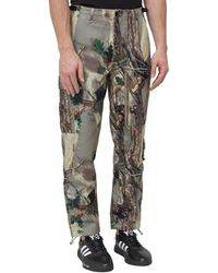 BBCICECREAM Camouflage Print Trousers - Multicolour