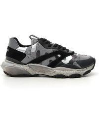 Valentino - Garavani Rockrunner Camouflage Sneakers - Lyst