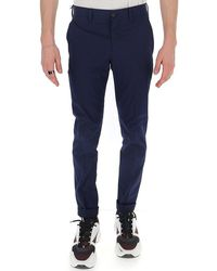 Prada Slim Fit Chino Trousers - Blue