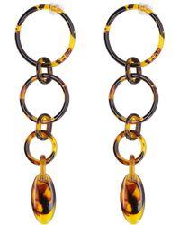 Cult Gaia Odette Earrings - Brown