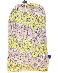 Comme des Garçons X Kaws Graphic Print Backpack - Yellow