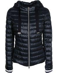 Herno Zip-up Padded Jacket - Blue