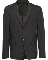 Prada Single Breasted Blazer - Black