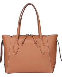 Tod's Mini Shopping Bag - Brown