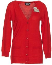 Boutique Moschino - Beaded Dog Cardigan - Lyst