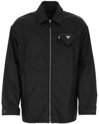 Prada Re-nylon Jacket Uomo L - Black