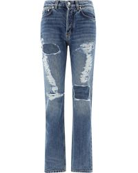Givenchy Distressed Jeans - Blue