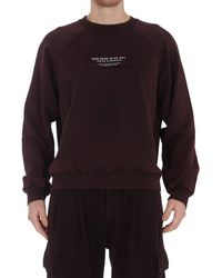 Dolce & Gabbana Slogan Print Sweatshirt - Brown