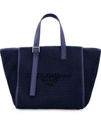 Dolce & Gabbana Maxi Tote Bag - Blue