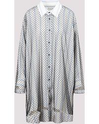 Maison Margiela Overlay Shirt Dress - Multicolour