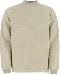 1017 ALYX 9SM Logo Neckline Sweatshirt - Natural