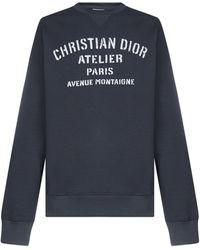 Dior Atelier Oversized Sweatshirt - Blue