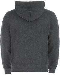 Dolce & Gabbana Cotton Sweatshirt Uomo 46 - Gray