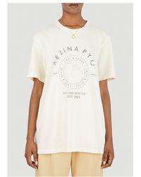 Rejina Pyo Murphy Logo Printed T-shirt - White