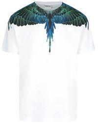 Marcelo Burlon Wings Printed T-shirt - White