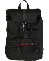 Alexander McQueen Urban Logo Backpack - Black