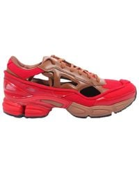 adidas By Raf Simons Rs Ozweego Iii Runner Trainers - Red