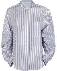 3.1 Phillip Lim Striped Pattern Shirt - Blue