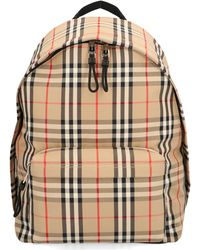 Burberry Vintage Check Backpack - Natural