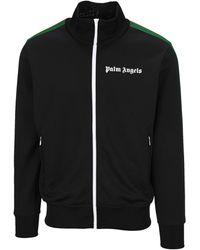 Palm Angels College Track Jacket - Black