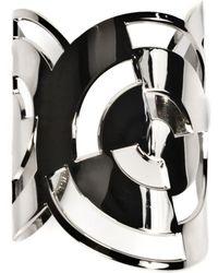 Dries Van Noten Brass Cuff Bracelet - Metallic