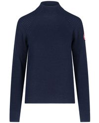 Canada Goose Inverness Knit Sweater - Blue