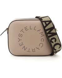 Stella McCartney Camera Bag With Perforated Stella Logo - Multicolour