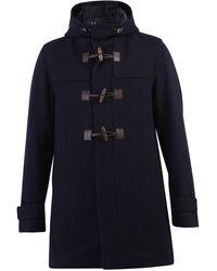 Herno Montgomery Coat - Blue