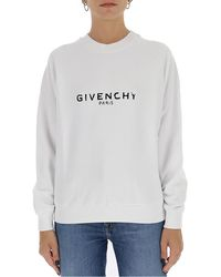 Givenchy Vintage Logo Sweatshirt - White