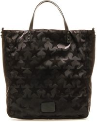 Valentino Garavani Rockstud Star Print Tote Bag - Black