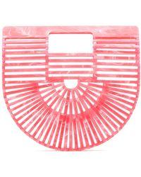 Cult Gaia Ark Mini Tote Bag - Pink