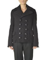DSquared² Double-breasted Coat - Black