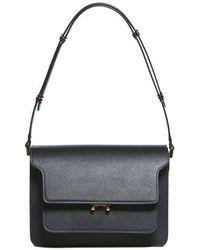 Marni Black Medium Trunk Bag