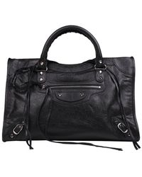 Balenciaga Classic City Shoulder Bag - Black