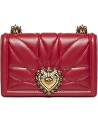 Dolce & Gabbana - Devotion Small Crossbody Bag - Lyst