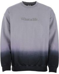 DIESEL S-mart-b4 Dip Dyed Sweatshirt - Purple