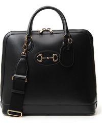 Gucci 1955 Horsebit Duffle Bag - Black