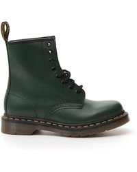 Dr. Martens 1460 Original 8-eye Leather Boot For And - Green
