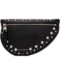 Alexander McQueen Studded Belt Bag - Black