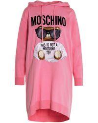 Moschino Women's V048755010222 Pink Cotton Dress