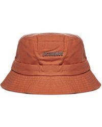Jacquemus Le Bob Gadjo Bucket Hat - Orange