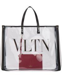 Valentino Valentino Garavani Large Plexy Tote Bag - Multicolour