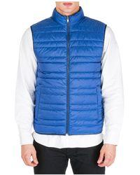 Michael Kors Men's Jumper Waistcoat Vest Reversibile - Blue