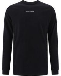 1017 ALYX 9SM Printed Crewneck T-shirt - Black