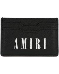 Amiri Logo Printed Cardholder - Black