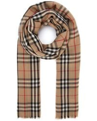 Burberry Vintage Checked Scarf - Multicolour