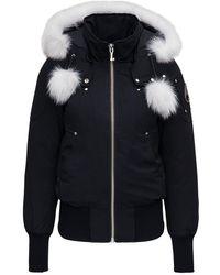 Moose Knuckles Stirling Parka Down Jacket - Black