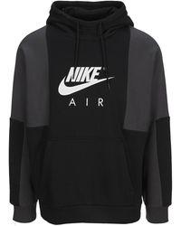 Nike Air Logo Hoodie - Black