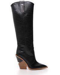 Fendi - High Knee Boots - Lyst